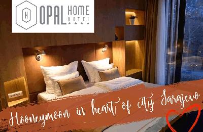 Honeymoon in the heart of city Sarajevo!