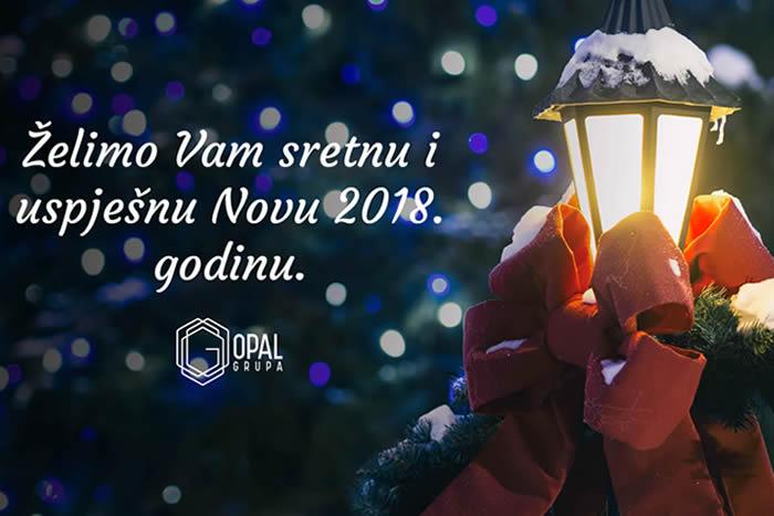 Želimo Vam sretnu i uspješnu Novu Godinu!